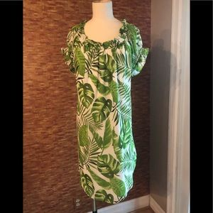 Size Large swim cover up or flowy summer dress